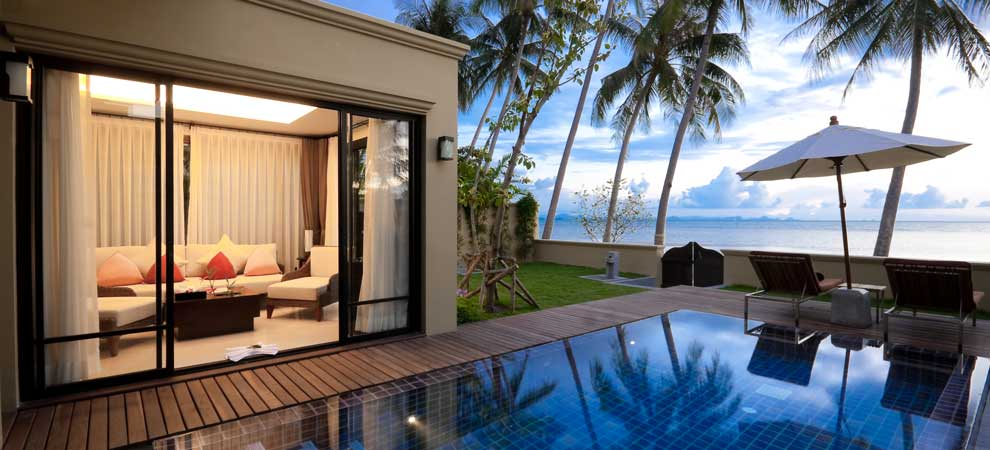 Koh samui accommodation at the passage koh samui for Koi pool villa koh tao