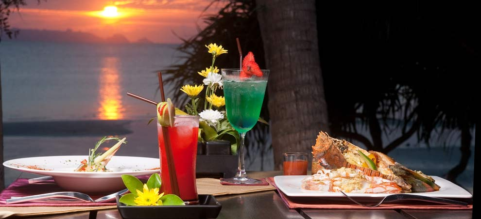 Koh Samui Restaurant - The Terrace Beachfront Seafood Dining